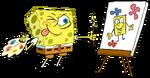 SpongeBob Painting
