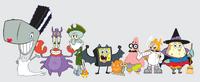 SpongeBob cast in Halloween costumes