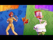 Nickelodeon All-Star Brawl Gameplay - Nigel Thornberry vs