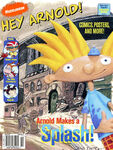 Nick Mag Presents Hey Arnold cover Nicktoons Special 2001
