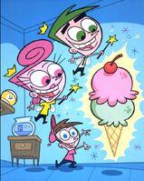 Timmy cosmo Wanda and Ice cream