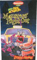 RealMonsters MonstersNightOut SonyWonder VHS