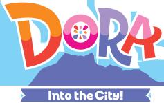 Dora and Friends Into the City - Original logo.png
