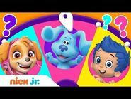 Adventures w- PAW Patrol, Blue's Clues & You, & Dora! 🤩 Spin the Wheel of Friends Ep. 8 - Nick Jr.