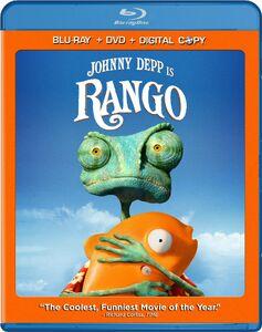 Rango Blu Ray
