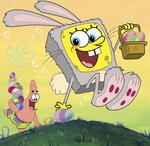SpongeBob easter