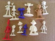 Hey Arnold Cereal packet figures