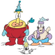 Rocko, Heffer and Spunky Winter Clothes