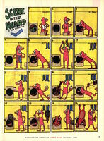 Nickelodeon Magazine comic Scene but Not Heard October 1996