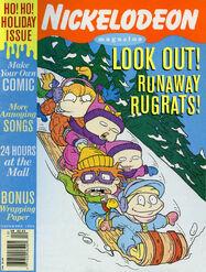 Nickelodeon Magazine December 1995 Runaway Rugrats