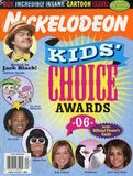 Nickelodeon Magazine cover April 2006 Kids Choice Awards