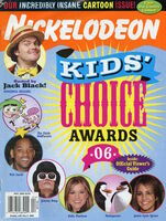 Nickelodeon Magazine cover April 2006 Kids Choice Awards