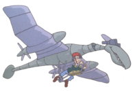 Stu riding Dactar