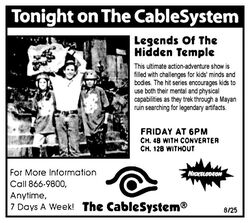 1995 CableSystem Legends of the Hidden Temple ad.jpg