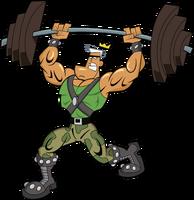 Jorgen Von Strangle Lifting Weights