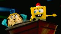SpongeBob SquarePants Mrs. Puff Christmas Stop Motion