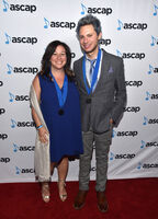 Doug Rockwell and Michelle Lewis at 2017 ASCAP Screen Music Awards