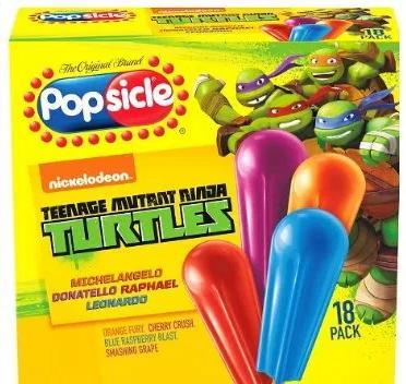 Nickelodeon Popsicles