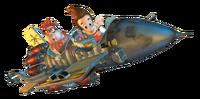 Jimmy Neutron Mark II Rocket