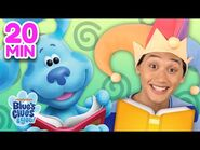 Josh & Blue Skidoo Into Books 📖 Compilation! - Blue's Clues & You!