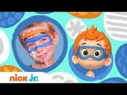 DIY Halloween Face Painting w- Bubble Guppies 🎨- Stay Home -WithMe - Arts + Crafts - Nick Jr.