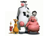 List of Back at the Barnyard characters