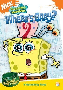 SpongeBob DVD - Where's Gary.jpg
