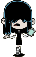 Welcome-to-the-loud-house lucy-phone