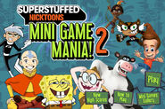 Nicktoons Superstuffed- Mini Game Mania 2 title screen