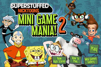 Nicktoons Superstuffed- Mini Game Mania 2 title screen