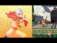 Aang Showcase – Nickelodeon All-Star Brawl