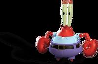 Mr Krabs Out of Water Render 01
