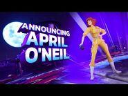 Nickelodeon All-Star Brawl April O'Neal Reveal