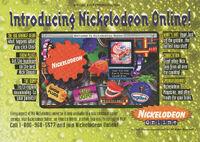 Nickelodeon Online print ad Nick Mag Nov 1995