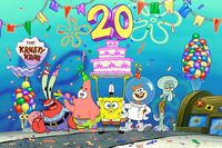 SpongeBob's Big Birthday Blowout wallpaper