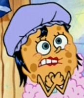 Margaret Wearing a Shower Cap