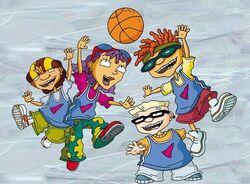 Rocket Gang Playing Basketball.jpg