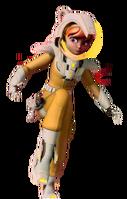 April space suit