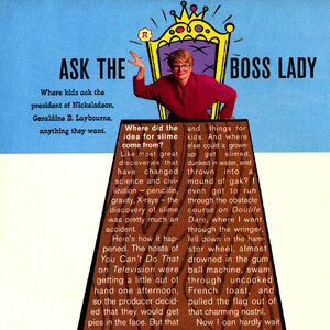 Ask the Boss Lady Geraldine Laybourne Nick Mag Summer 1993.jpg