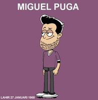 Miguel Puga Caricature (The Loud House)