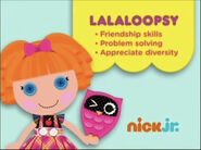 Lalaloopsy Curriculum Board (2013)