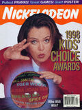 Nickelodeon Magazine cover April 1998 Kids Choice Awards Rosie O Donnell