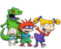 Some of the rugrats characters in 2018