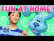 Josh & Blue Playdate -8 Sing Alongs & Skidoo Challenge - Blue's Clues & You!