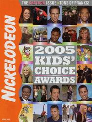 Nickelodeon Magazine cover April 2005 Kids Choice Awards