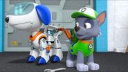 PAW Patrol Robo-Dog Ryder's Robot with Rocky
