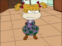 Angelica in her winter outfit