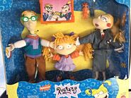 Angelica Pickles and her family Drew and Charlotte