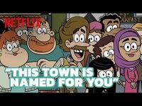 """""""This Town is Named For You"""" Song Clip 🏘 - The Loud House Movie - Netflix Futures"""