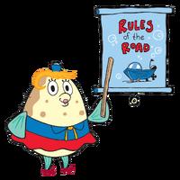 Mrs. Poppy Puff SpongeBob SquarePants TV Series Character